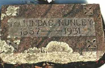 NUNLEY, MALINDA CAROLINE - Carroll County, Arkansas | MALINDA CAROLINE NUNLEY - Arkansas Gravestone Photos