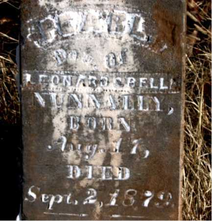 NUNNALLY, PEARL - Carroll County, Arkansas | PEARL NUNNALLY - Arkansas Gravestone Photos