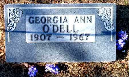 O'DELL, GEORGIA ANN - Carroll County, Arkansas | GEORGIA ANN O'DELL - Arkansas Gravestone Photos
