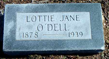 O'DELL, LOTTIE JANE - Carroll County, Arkansas | LOTTIE JANE O'DELL - Arkansas Gravestone Photos