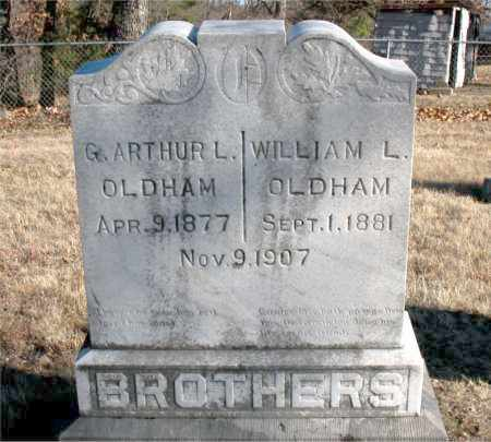 OLDHAM, WILLIAM L. - Carroll County, Arkansas | WILLIAM L. OLDHAM - Arkansas Gravestone Photos