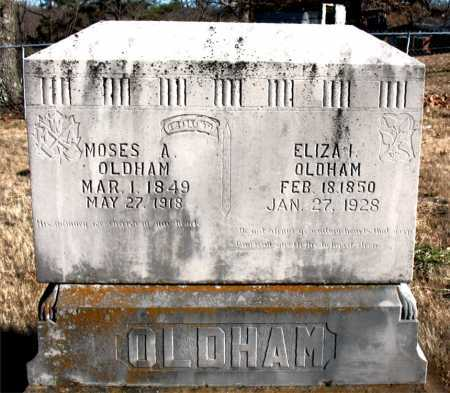 OLDHAM, MOSES A. - Carroll County, Arkansas | MOSES A. OLDHAM - Arkansas Gravestone Photos