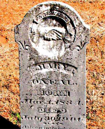 O'NEAL, MARY - Carroll County, Arkansas | MARY O'NEAL - Arkansas Gravestone Photos