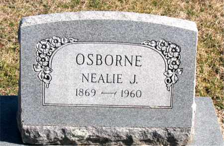 OSBORNE, NEALIE J - Carroll County, Arkansas | NEALIE J OSBORNE - Arkansas Gravestone Photos