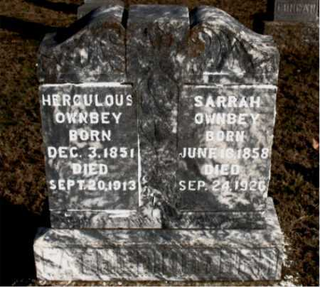 OWNBEY, SARRAH - Carroll County, Arkansas | SARRAH OWNBEY - Arkansas Gravestone Photos