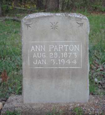 PARTON, ANN - Carroll County, Arkansas | ANN PARTON - Arkansas Gravestone Photos