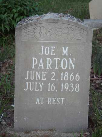PARTON, JOE M. - Carroll County, Arkansas | JOE M. PARTON - Arkansas Gravestone Photos