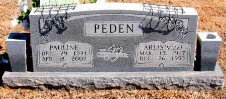 PEDEN, PAULINE - Carroll County, Arkansas | PAULINE PEDEN - Arkansas Gravestone Photos