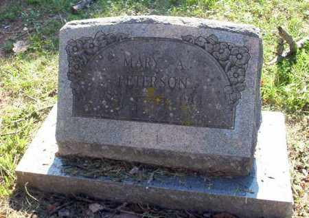 PETERSON, MARY A - Carroll County, Arkansas | MARY A PETERSON - Arkansas Gravestone Photos