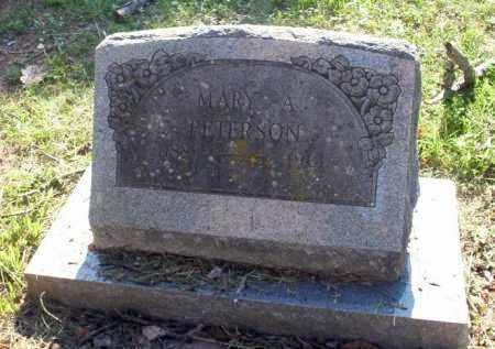 PETERSON, MARY A - Carroll County, Arkansas | MARY A PETERSON - Arkansas Gravestone Photos