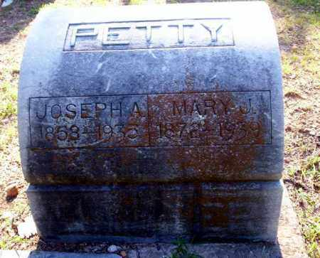 PETTY, MARY J - Carroll County, Arkansas | MARY J PETTY - Arkansas Gravestone Photos