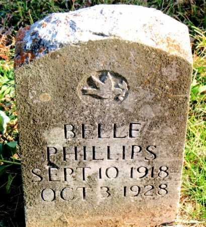 PHILLIPS, BELLE - Carroll County, Arkansas | BELLE PHILLIPS - Arkansas Gravestone Photos