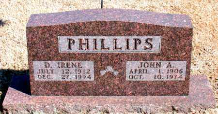 PHILLIPS, D. IRENE - Carroll County, Arkansas | D. IRENE PHILLIPS - Arkansas Gravestone Photos