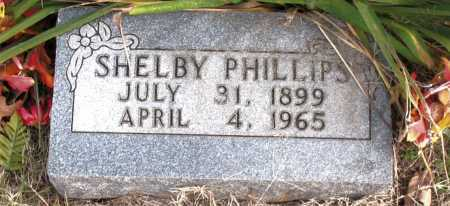 PHILLIPS, SHELBY - Carroll County, Arkansas | SHELBY PHILLIPS - Arkansas Gravestone Photos