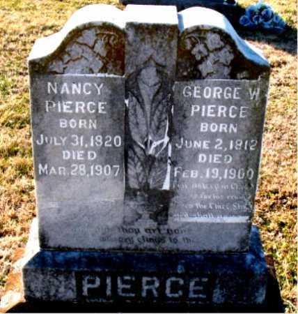 PIERCE, GEORGE W. - Carroll County, Arkansas | GEORGE W. PIERCE - Arkansas Gravestone Photos