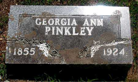 PINKLEY, GEORGIA ANN - Carroll County, Arkansas | GEORGIA ANN PINKLEY - Arkansas Gravestone Photos