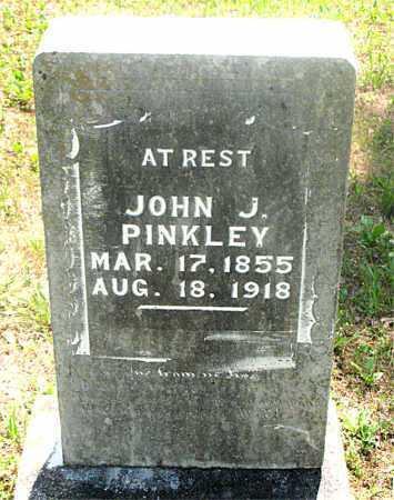PINKLEY, JOHN J - Carroll County, Arkansas | JOHN J PINKLEY - Arkansas Gravestone Photos