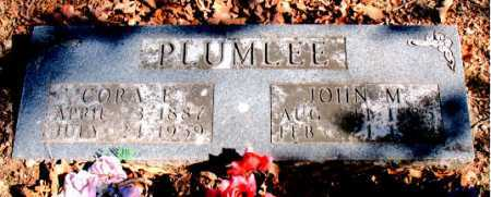 PLUMLEE, CORA ELLEN - Carroll County, Arkansas | CORA ELLEN PLUMLEE - Arkansas Gravestone Photos