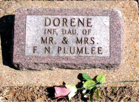 PLUMLEE, DORENE - Carroll County, Arkansas | DORENE PLUMLEE - Arkansas Gravestone Photos