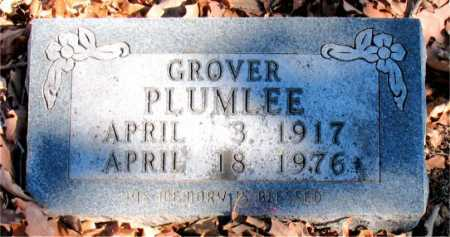 PLUMLEE, GROVER - Carroll County, Arkansas | GROVER PLUMLEE - Arkansas Gravestone Photos