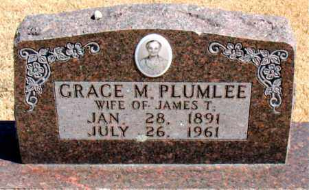 PLUMLEE, GRACE M. - Carroll County, Arkansas | GRACE M. PLUMLEE - Arkansas Gravestone Photos
