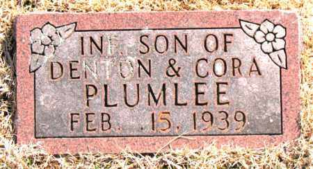 PLUMLEE, INFANT SON - Carroll County, Arkansas | INFANT SON PLUMLEE - Arkansas Gravestone Photos