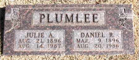 PLUMLEE, DANIEL  R. - Carroll County, Arkansas | DANIEL  R. PLUMLEE - Arkansas Gravestone Photos