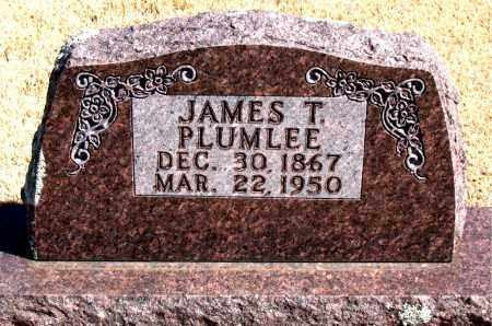 PLUMLEE, JAMES T. - Carroll County, Arkansas | JAMES T. PLUMLEE - Arkansas Gravestone Photos