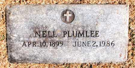 PLUMLEE, NELL - Carroll County, Arkansas | NELL PLUMLEE - Arkansas Gravestone Photos