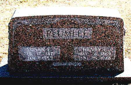PLUMLEE, HENRY C. - Carroll County, Arkansas | HENRY C. PLUMLEE - Arkansas Gravestone Photos