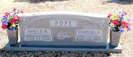 POPE, CLARICE M. - Carroll County, Arkansas | CLARICE M. POPE - Arkansas Gravestone Photos