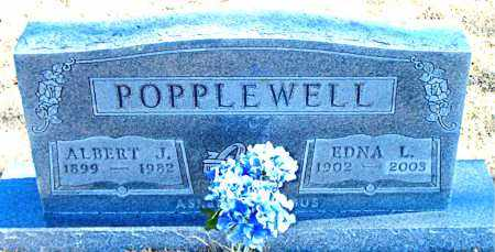 POPPLEWELL, EDNA L. - Carroll County, Arkansas | EDNA L. POPPLEWELL - Arkansas Gravestone Photos