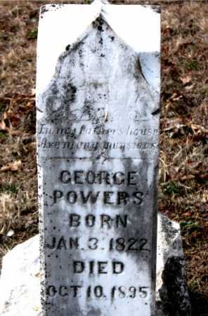 POWERS, GEORGE - Carroll County, Arkansas | GEORGE POWERS - Arkansas Gravestone Photos