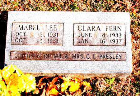 PRESLEY, CLARA FERN - Carroll County, Arkansas | CLARA FERN PRESLEY - Arkansas Gravestone Photos