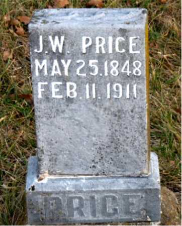 PRICE, J. W. - Carroll County, Arkansas | J. W. PRICE - Arkansas Gravestone Photos