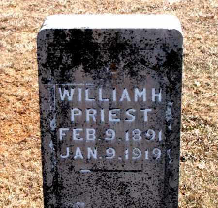 PRIEST, WILLIAM  H. - Carroll County, Arkansas | WILLIAM  H. PRIEST - Arkansas Gravestone Photos