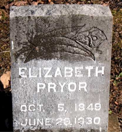 PRYOR, ELIZABETH - Carroll County, Arkansas | ELIZABETH PRYOR - Arkansas Gravestone Photos