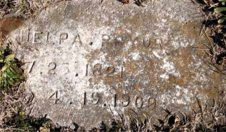 PRYOR, HELPA - Carroll County, Arkansas | HELPA PRYOR - Arkansas Gravestone Photos