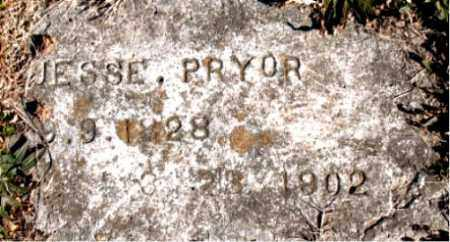 PRYOR, JESSE - Carroll County, Arkansas | JESSE PRYOR - Arkansas Gravestone Photos