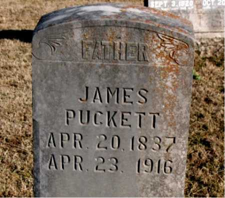 PUCKETT, JAMES - Carroll County, Arkansas | JAMES PUCKETT - Arkansas Gravestone Photos