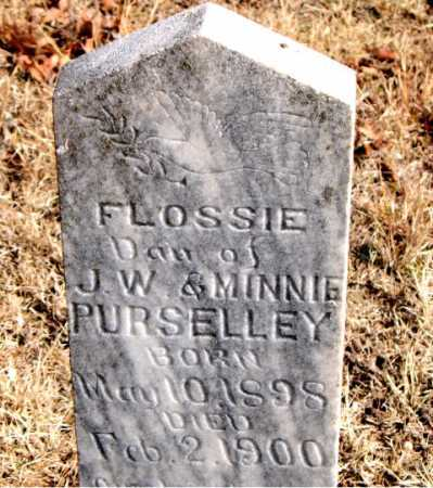 PURSELLEY, FLOSSIE - Carroll County, Arkansas | FLOSSIE PURSELLEY - Arkansas Gravestone Photos