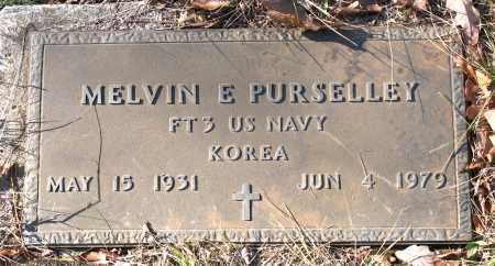 PURSELLEY (VETERAN KOR), MELVIN E. - Carroll County, Arkansas | MELVIN E. PURSELLEY (VETERAN KOR) - Arkansas Gravestone Photos