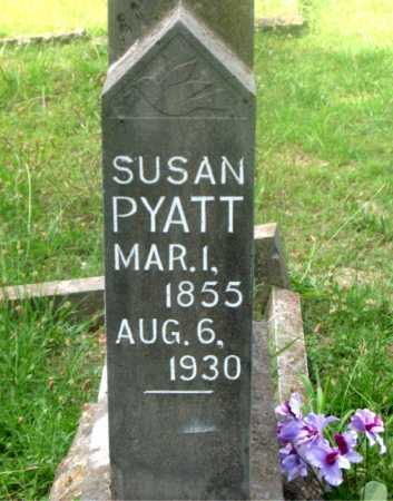 PYATT, SUSAN - Carroll County, Arkansas | SUSAN PYATT - Arkansas Gravestone Photos