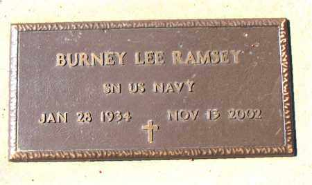RAMSEY (VETERAN), BURNEY LEE - Carroll County, Arkansas | BURNEY LEE RAMSEY (VETERAN) - Arkansas Gravestone Photos