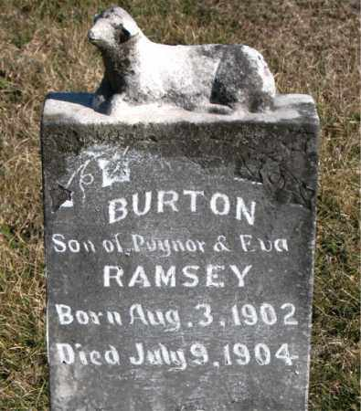RAMSEY, BURTON - Carroll County, Arkansas | BURTON RAMSEY - Arkansas Gravestone Photos