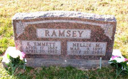 RAMSEY, E. EMMETT - Carroll County, Arkansas | E. EMMETT RAMSEY - Arkansas Gravestone Photos