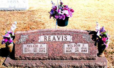 REAVIS, NELLIE  F. - Carroll County, Arkansas | NELLIE  F. REAVIS - Arkansas Gravestone Photos