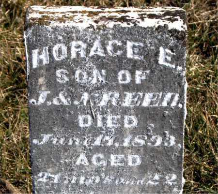 REED, HORACE E. - Carroll County, Arkansas | HORACE E. REED - Arkansas Gravestone Photos