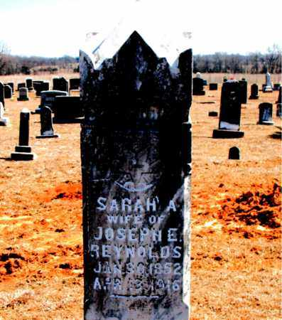 REYNOLD, SARAH A. - Carroll County, Arkansas | SARAH A. REYNOLD - Arkansas Gravestone Photos
