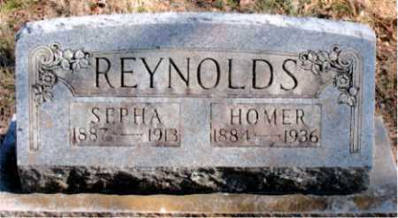 REYNOLDS, HOMER - Carroll County, Arkansas | HOMER REYNOLDS - Arkansas Gravestone Photos
